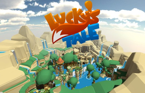 Luckys-Tale-Welcome